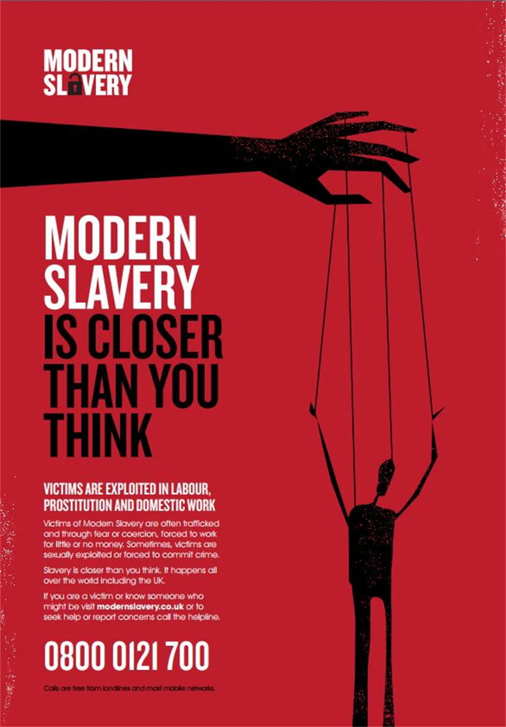 Modern slavery is closer than you think.
